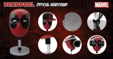 Headstand, stojak, głowa Deadpoola