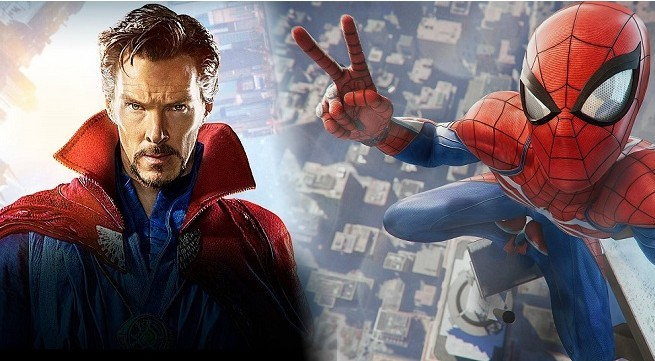 Spider-Man, PS4, Doctor Strange