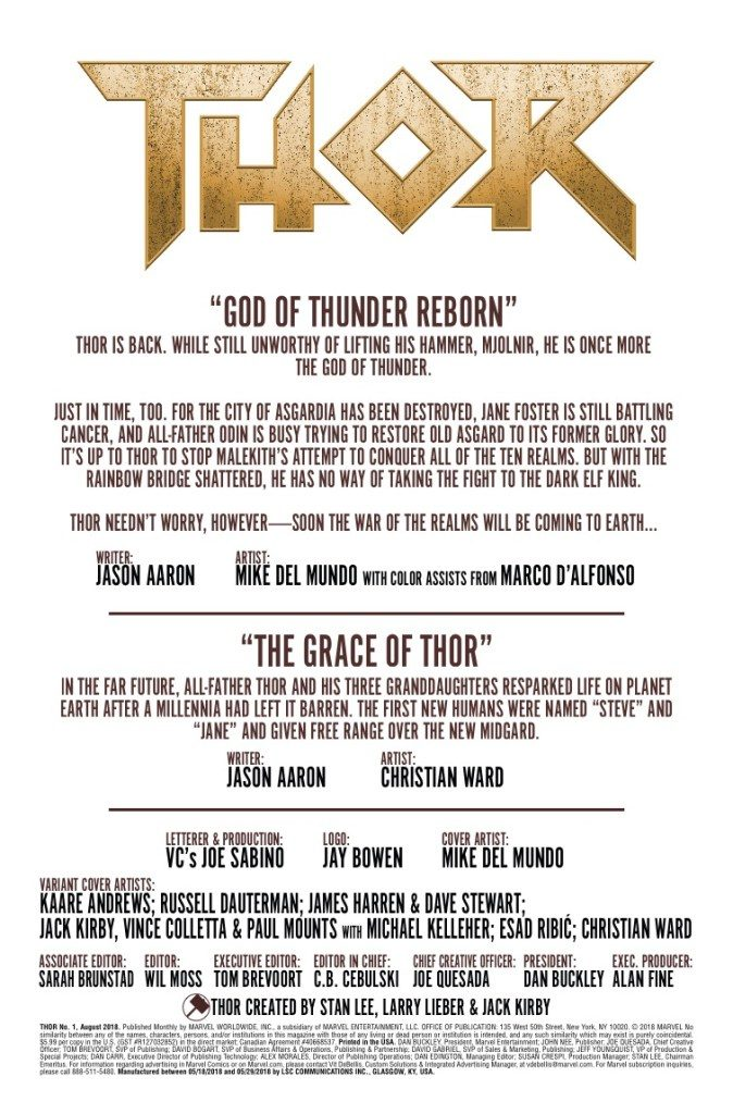 Thor, Fresh Start
