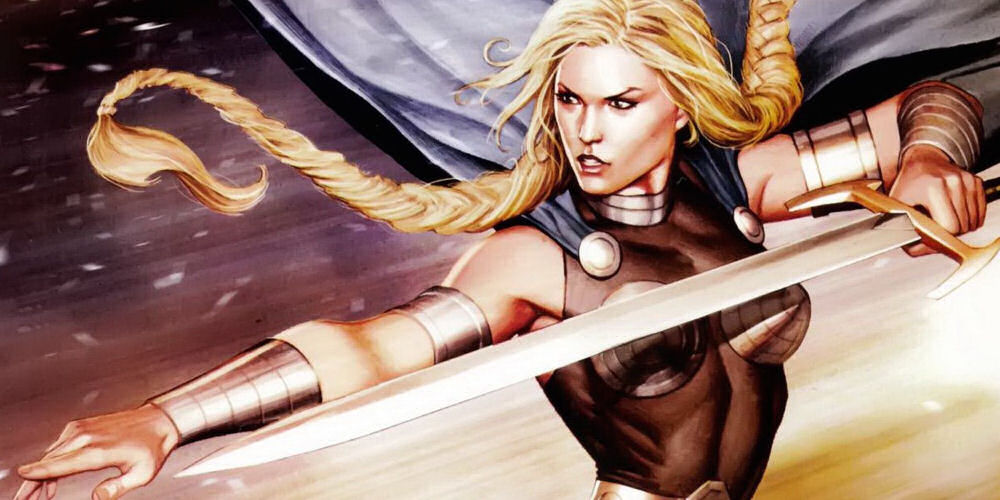 Valkyrie, Walkiria, Brunhilde, Asgard