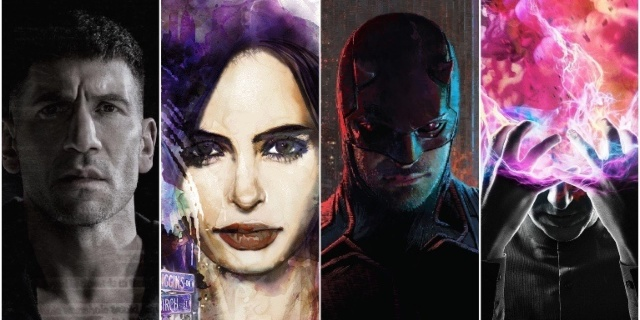 Emmy, Punisher, Jessica Jones, Daredevil, Legion