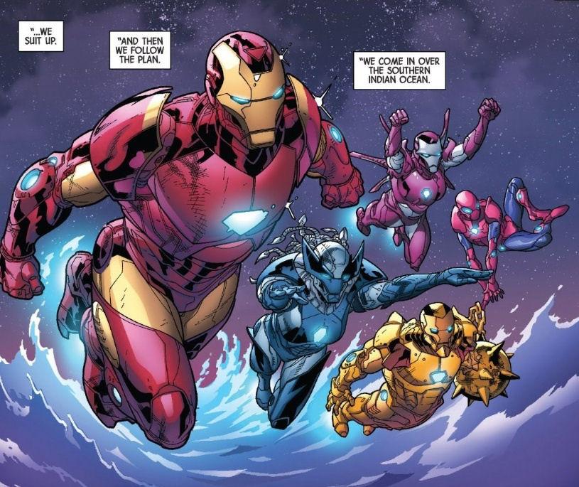 Hunt for Wolverine, Adamantium Agenda, Iron Man, Spider-Man, Luke Cage, X-23, Jessica Jones