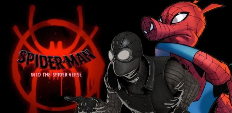 Into The Spider-Verse, Spider-Man Noir, Spider-Ham