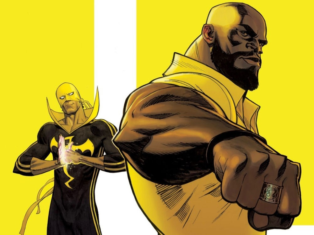 Iron Fist, Luke Cage, Power Man, Heroes For Hire
