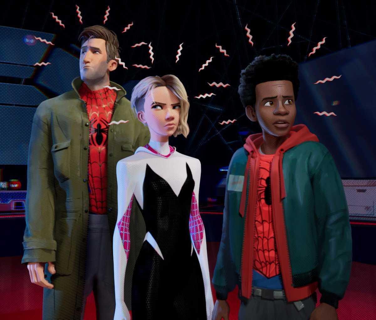 Spider-Man Into The Spider Verse, Spider-Man, Miles Morales, Spider-Gwen