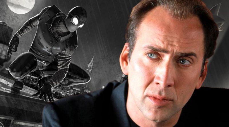 Spider-Man Into the Spider-Verse, Spider-Man Noir, Nicolas Cage