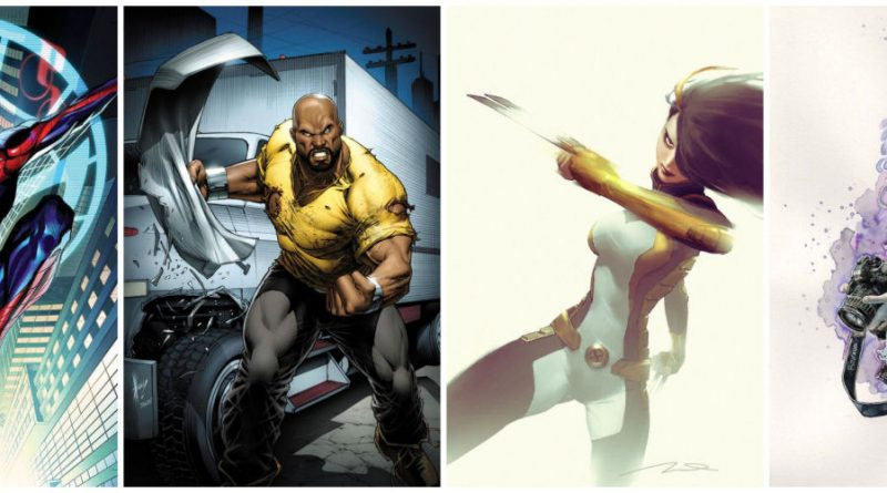 Spider-Man, Luke Cage, X-23, Jessica Jones