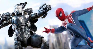 Spider-Man. War Machine, Figurki