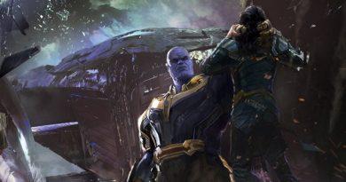 Infinity War szkice koncepcyjne