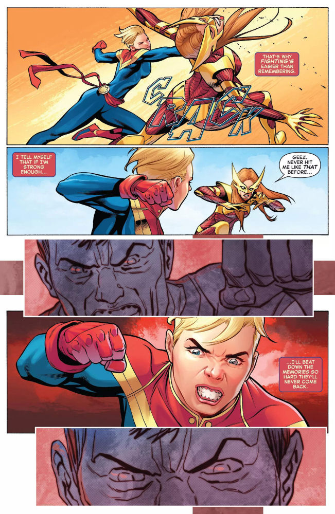 The Life of Captain Marvel, Captain Marvel