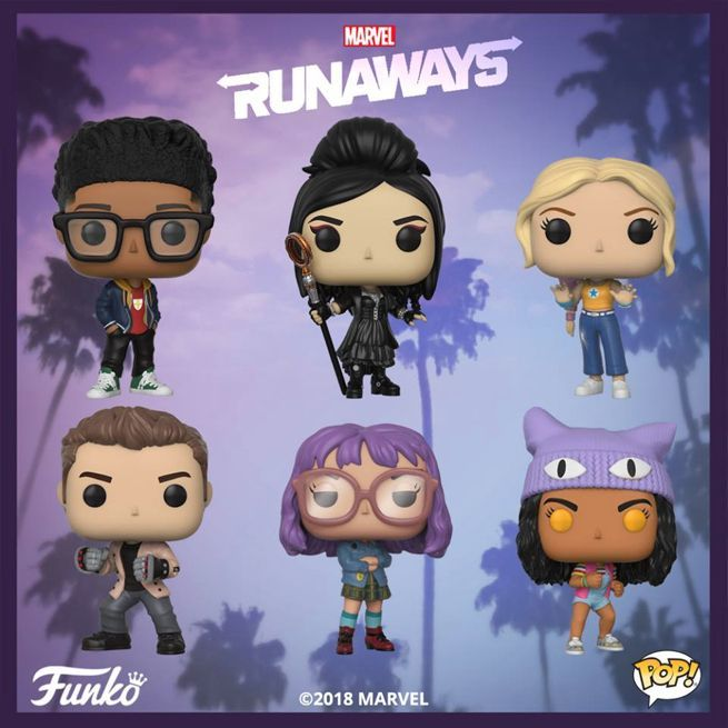 Funko Pop, Marvel's Runaways