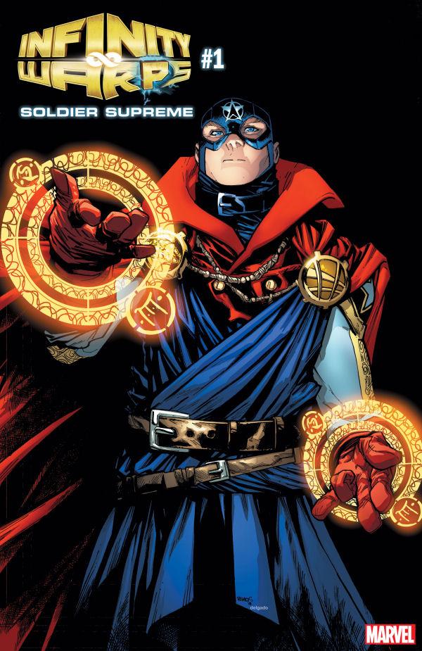 Kapitan Ameryka, Infinity Wars, Soldier Supreme, Captain America, Doctor Strange