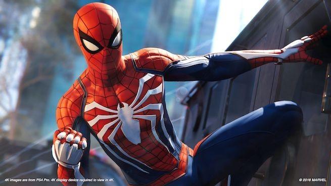 Marvel's Spider-Man, PS4, PlayStation 4