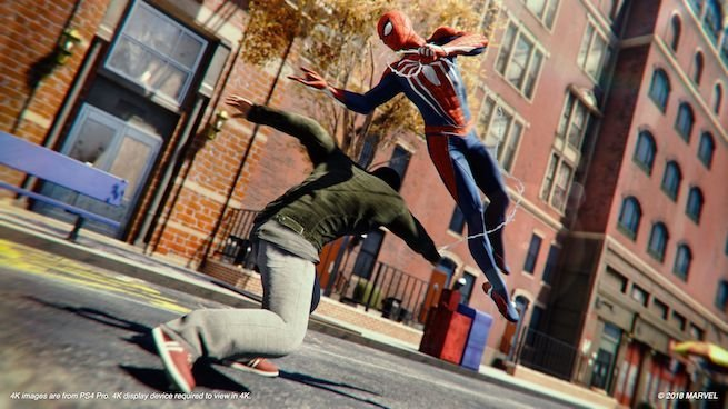 Spider-Man, PS4, PlayStation 4