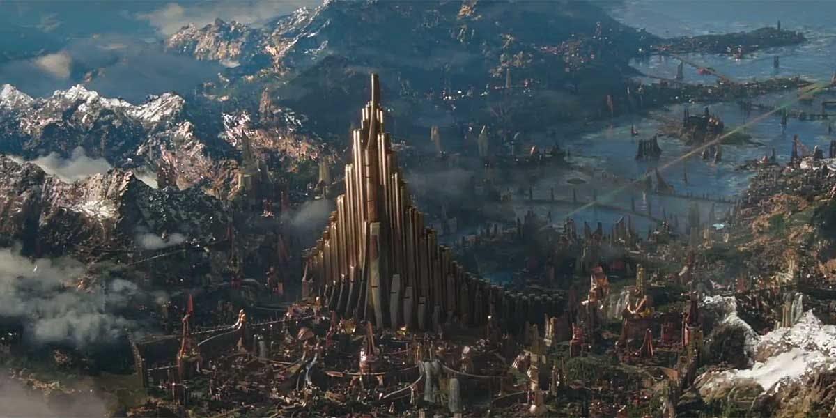 Filmowy Asgard mógł wyglądać zupełnie inaczej - concept art ...