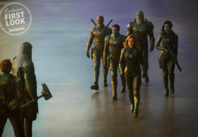 """Captain Marvel"": oryginalny projekt munduru Starforce"