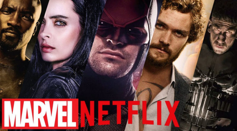 Marvel, Netflix, Daredevil, Jessica Jones, Luke Cage, Iron Fist, Defenders, Punisher