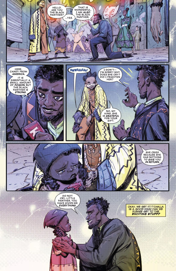Black Panther, Deadpool