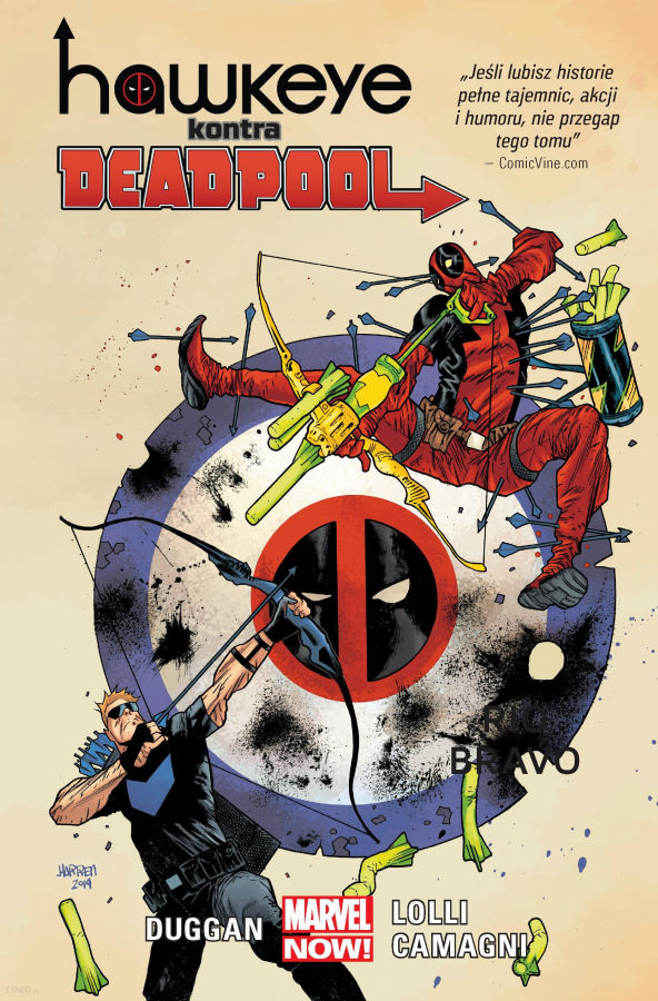 Hawkeye kontra Deadpool