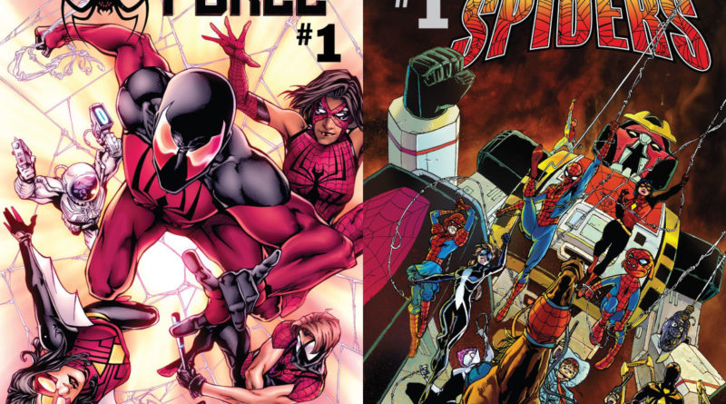 Spider-Force, The Vault of Spiders, Scarlet Spider, Spider-Man