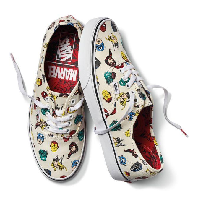 Buty, Vans, Marvel