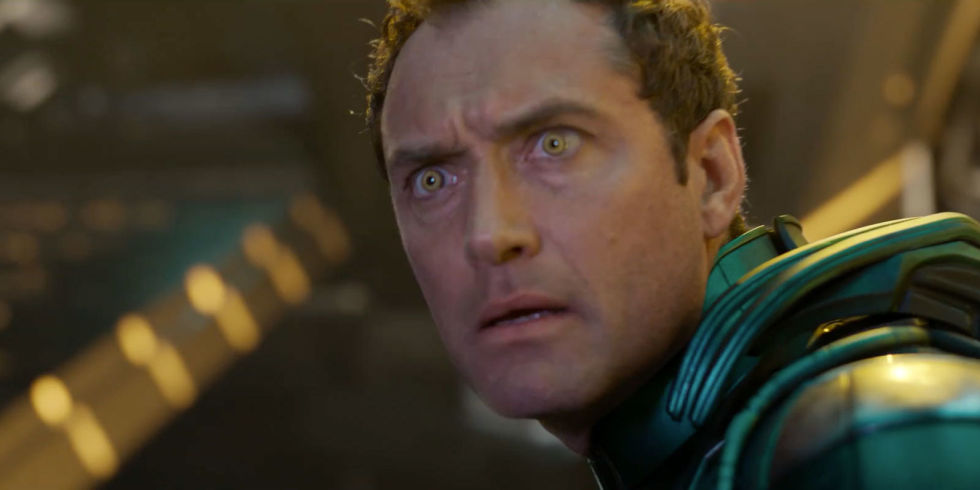 Captain Marvel, Jude Law, Yon-Rogg