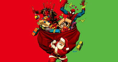 Marvel, Spider-Man, Deadpool, Santa, Prezenty, Prezentów, Christmas, Planeta Marvel, Holidays