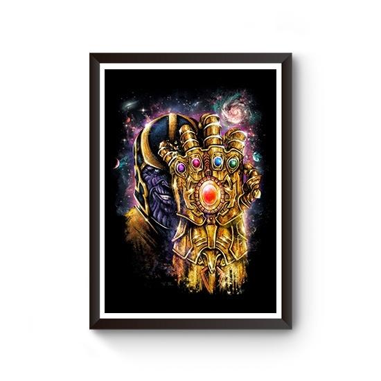 OtherTees, Plakat, Thanos, Infinity Gauntlet