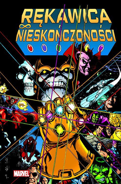 Rękawica Nieskończoności, Thanos, Marvel Classic, Egmont, Infinity Gauntlet