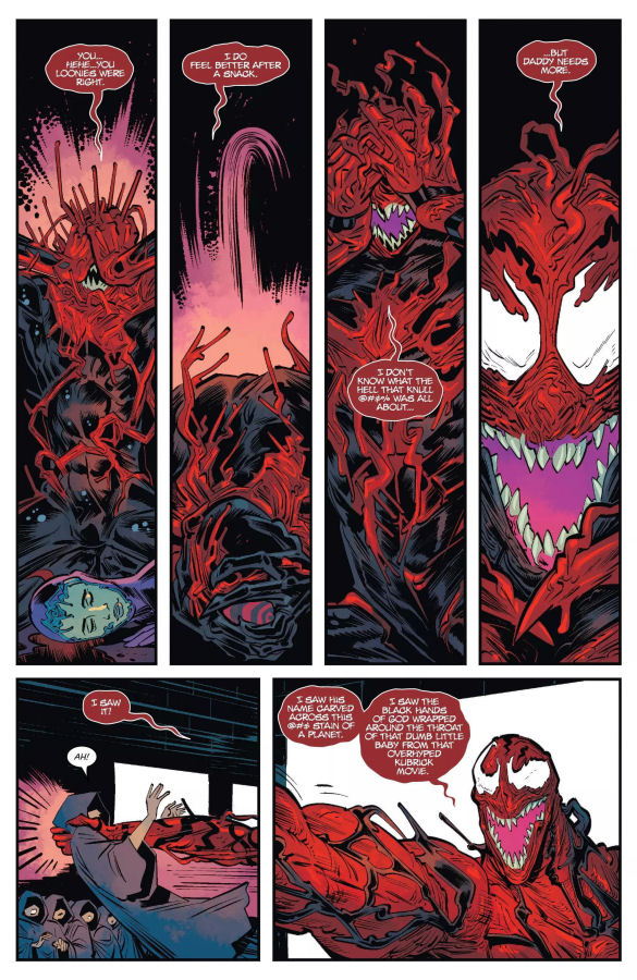 Web of Venom, Carnage