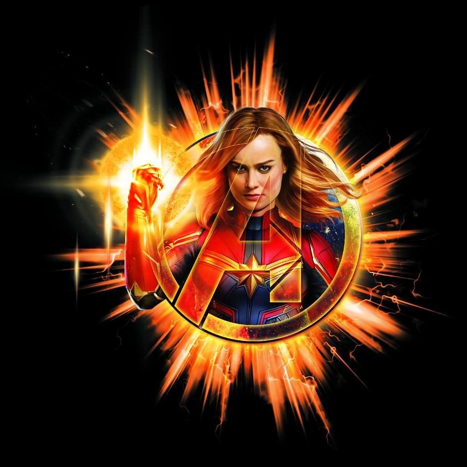 Avengers Endgame, Captain Marvel