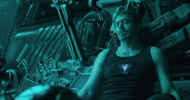 Avengers Endgame, Iron Man, Tony Stark