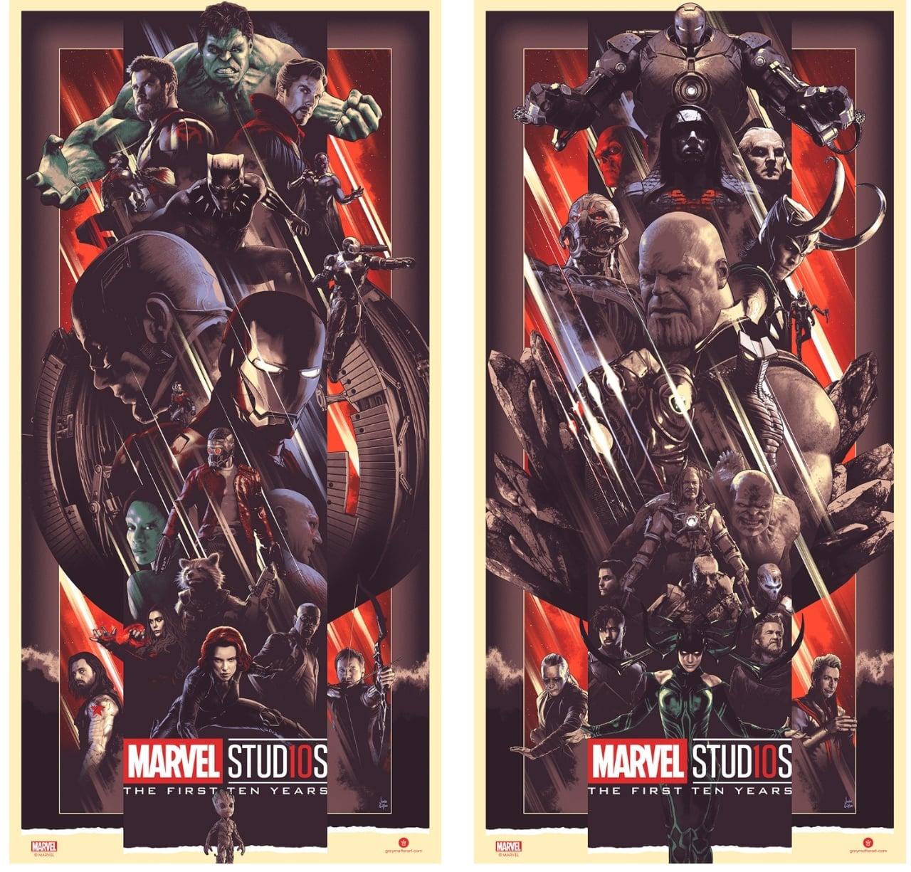 Bottleneck Gallery, Marvel Studios