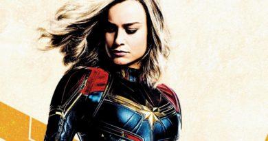 Captain Marvel, Marvel Studios, Carol Danvers, Brie Larson, Poster