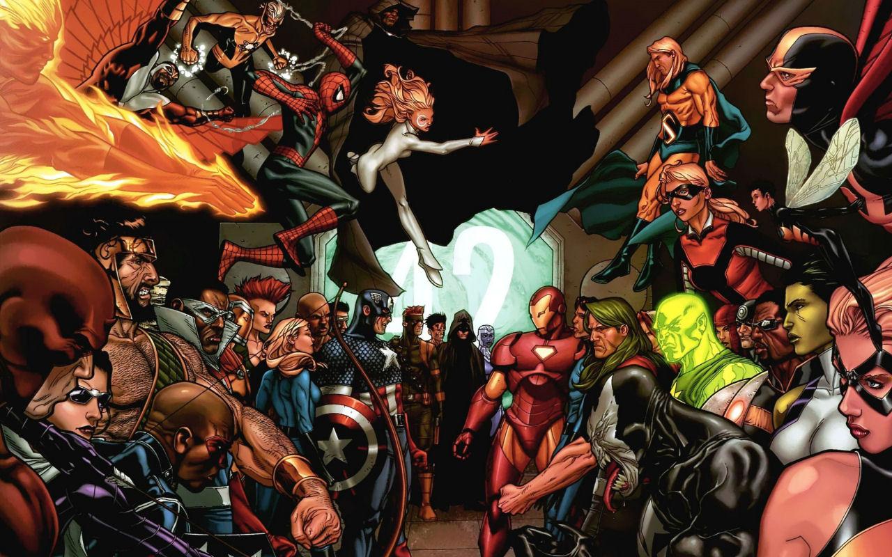 Civil War, Comic, Team Iron Man, Team Captain America