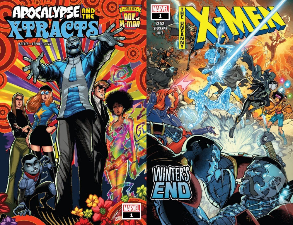 Age Of X Man - Apocalypse And The X-Tracts #1 & Uncanny X-Men - Winter's End #1