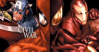 Captain America, Iron Man, Spider-Man, Civil War, Wojna Domowa