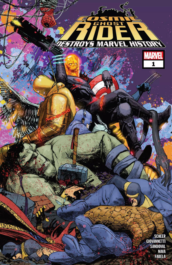"""Cosmic Ghost Rider Destroys Marvel History #1"" (2019) – Recenzja"