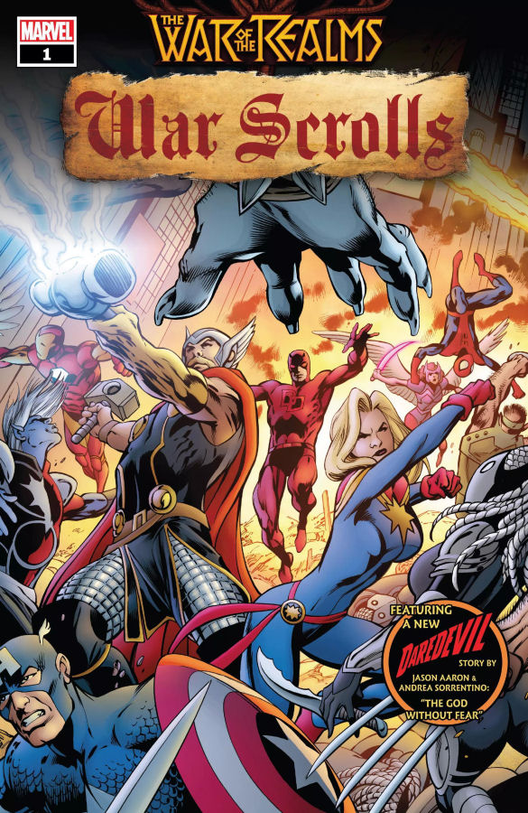 """War of The Realms: War Scrolls #1"" (2019) – Recenzja"
