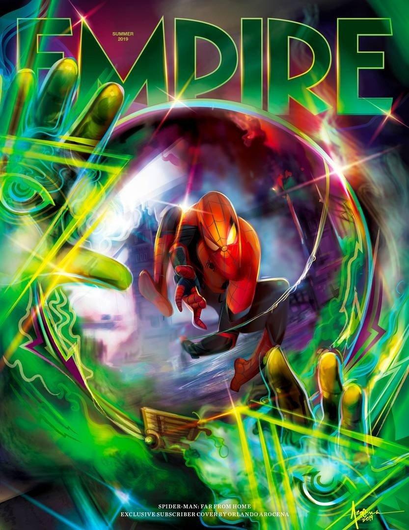 Spider-Man Far From Home, Mysterio, Empire Magazine