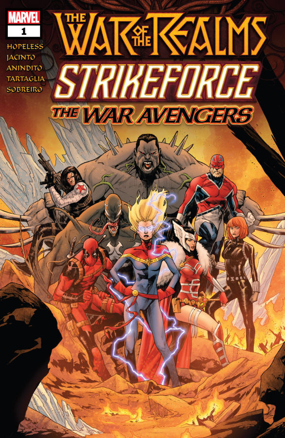 """War of The Realms Strikeforce: The War Avengers #1"" (2019) – Recenzja"