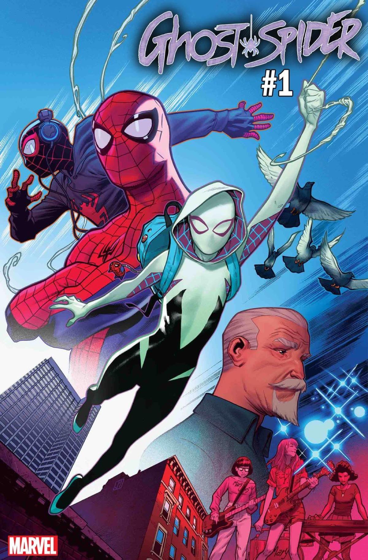 Spider-Man, Ghost-Spider, Spider-Gwen