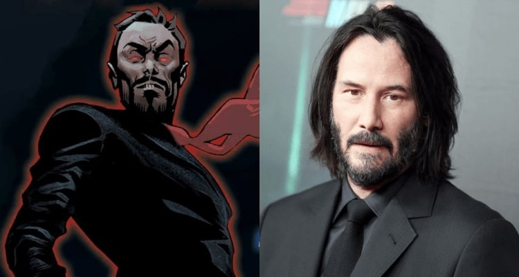 Keanu Reeves Eternals