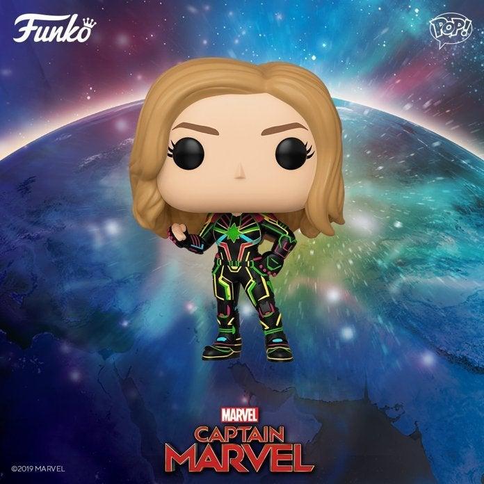 Funko, Neon Captain Marvel