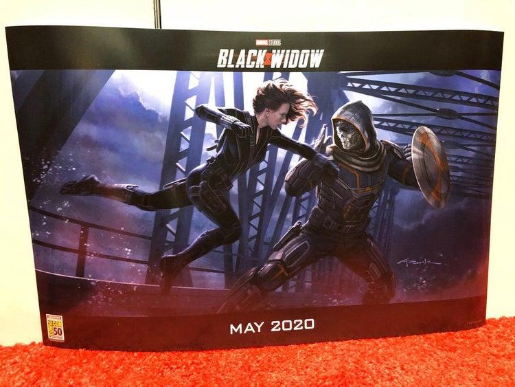 Black Widow, Taskmaster, Andy Park
