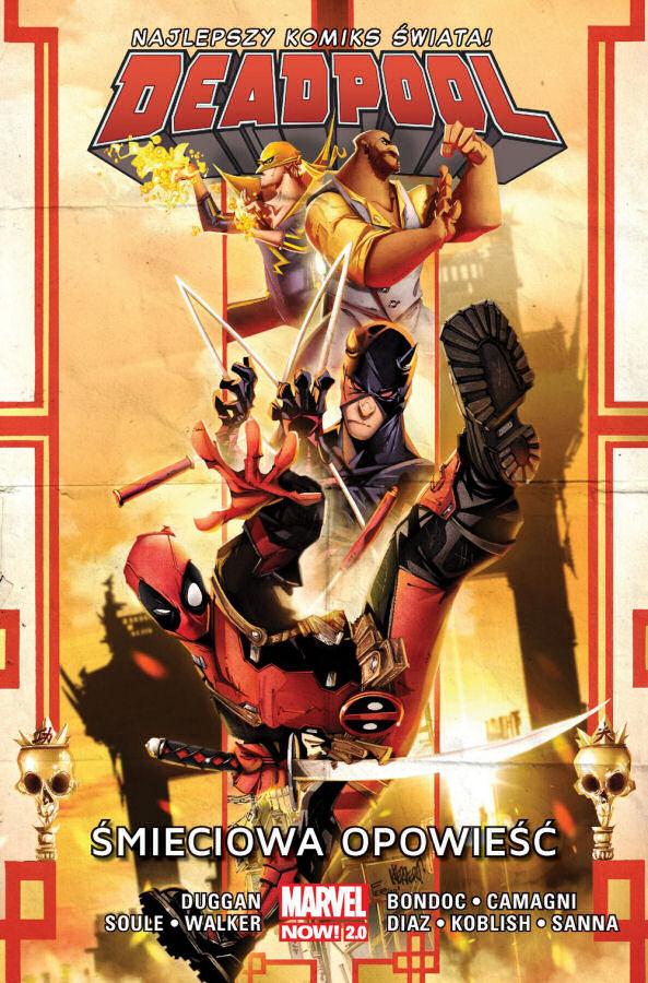 """""""Deadpool: Śmieciowa opowieść"""" (Tom 4) – Recenzja"""