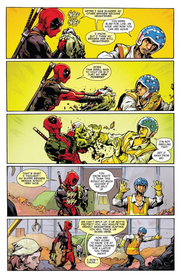 Deadpool, Śmieciowa Opowieść