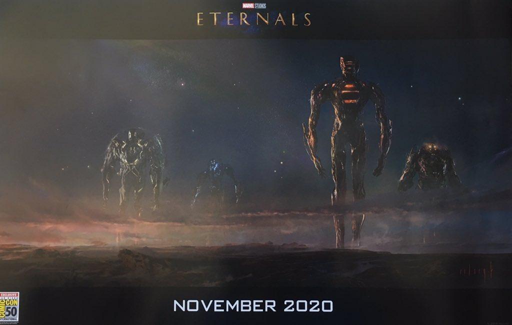 Eternals, Celestials, Concept Art