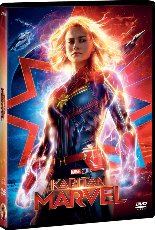 Kapitan Marvel, Captain Marvel, DVD