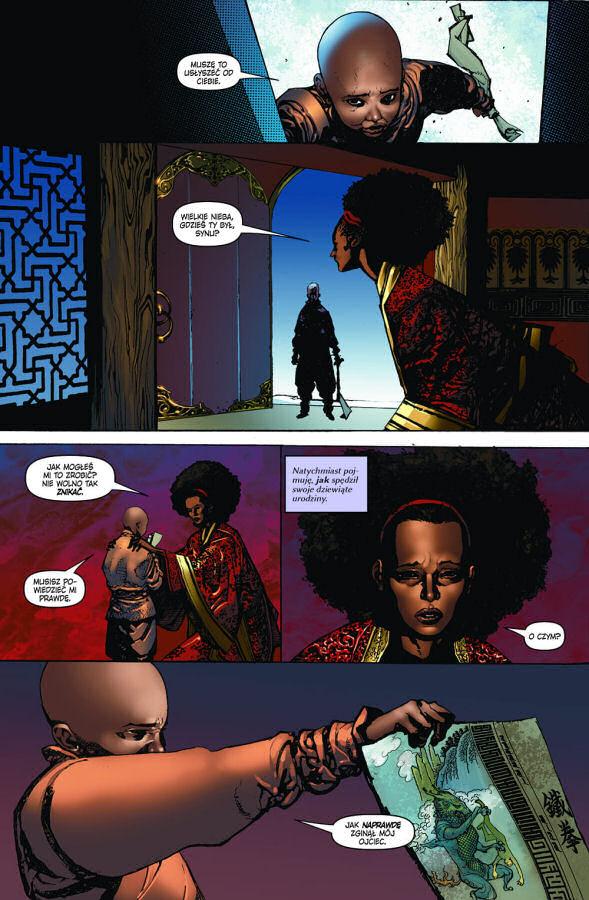 Danny Rand, Iron Fist, Mucha Comics